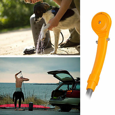 Outdoor Portable 12V Camping Hiking Travel Car Pet Shower Spa Wash Kit New