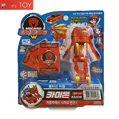 Turning Mecard W KAION Red ver. Lion Transformer Robot Car Toy Sonokong