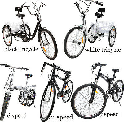 "24"" bicycle tricycle/6s 20"" folding bikes/21s 26"" Mountain Bike/7 speed 26"" Bike"
