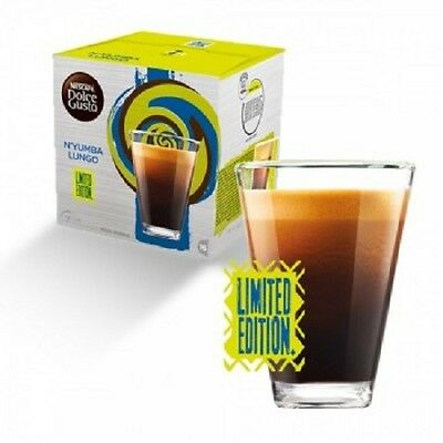 DOLCE GUSTO Capsules Pods Nescafe N'YUMBA LUNGO COFFEE!NEW TASTE LIMITED EDITION