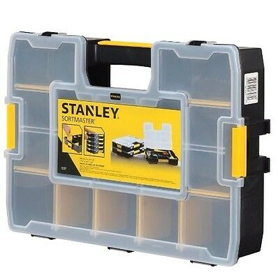 Stanley Sortmaster Organiser DIY Dividers Storage Bag for Tools UK Seller New