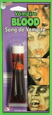 New Fake Halloween Red Blood Vampire Zombie Face Make Up Fancy Dress Party Fun
