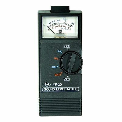 Sound Level Meter Analogue 40-120dB Ranges Carry Case & Full Instruction