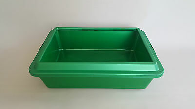 Cat Large Litter Tray Toilet with Rim Great Quality Box 42x32x12cm Dog Pet