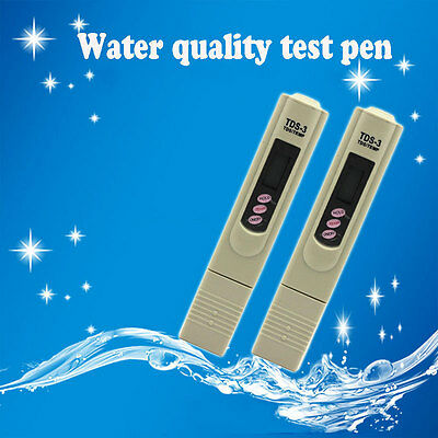 Pen Stick Water Quality Test TDS Meter Digital LCD Tester Pen Hardness Analyzer