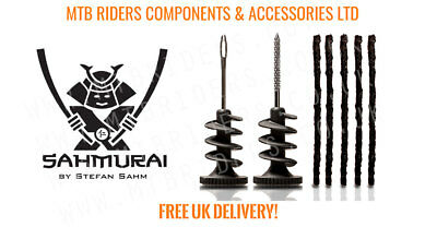 Sahmurai Sword Tubeless Tyre Repair Plug Kit - MTB Mountain Bike Bicycle