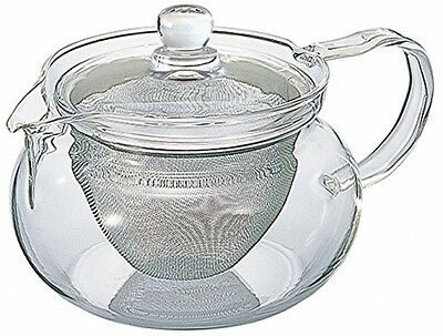 Hario 50 Ml Stainless Fine Glass Teapot With Large Infuser, Pack Of 1