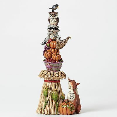 Enesco JSH6 Heartwood Creek Jim Shore Thanksgiving Stacked Harvest 4047828