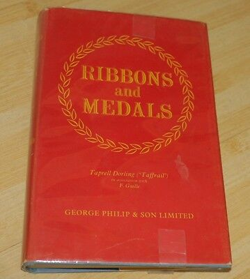 Ribbons and Medals Captn. Taprell Dorling  1963 Naval Military Airforce Civil