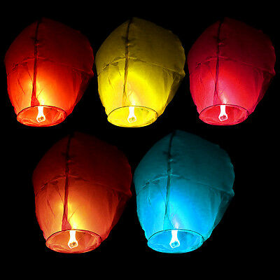 Paper Kongming Wishing Lamp Luck Flying Lantern for Wedding Birthday Party Decor