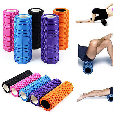 Trigger Point Foam Roller High Density Floating Fitness For Gym EVA Yoga Pilates