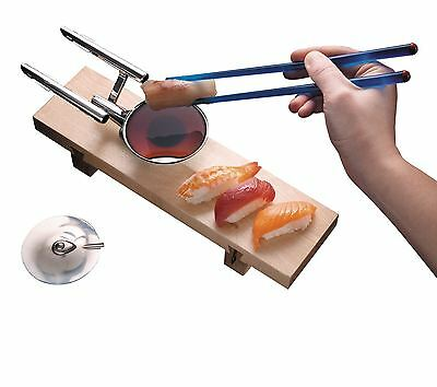 Star Trek U.S.S. Enterprise NCC-1701 Sushi Serving Set Plate Chopsticks Bowl