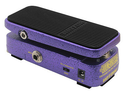 Hotone Vow Press- Switchable Volume /Wah Pedal