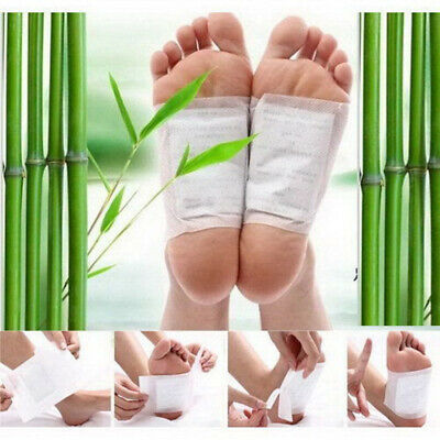 10-500 pcs Detox Foot Pads Patch Detoxify Toxins Fit Health Care with Adhesive