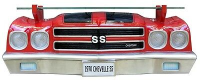 GM Chevrolet 1970 Chevy Chevelle Ss Front End Wall Shelf Lights Man Cave Car