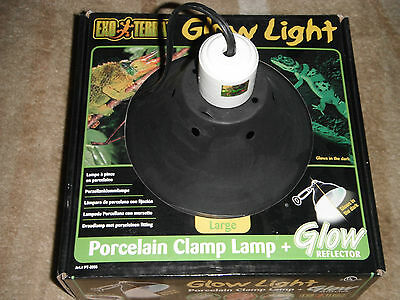 Exo Terra Reptile Porcelain Wire Clamp Lamp Large Pt2062