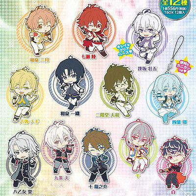 Idolish 7 Game Anime Rubber Strap Keychian Charm Toys Works Collection Ver