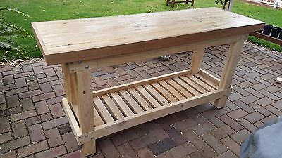 Wooden Workbench/s, Custom Made, Heavy Duty!