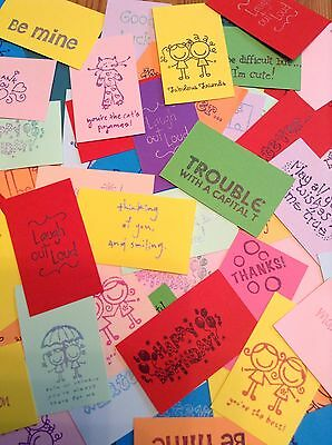 50 COOL CARDZ REFILL PACK-INSERTS//CARDS//SELF SEAL LAMINATE POUCHES-54x86mm