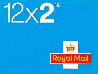 24 BRAND NEW 2ND SECOND CLASS POSTAGE STAMPS To Your Door Via 1st Class Delivery