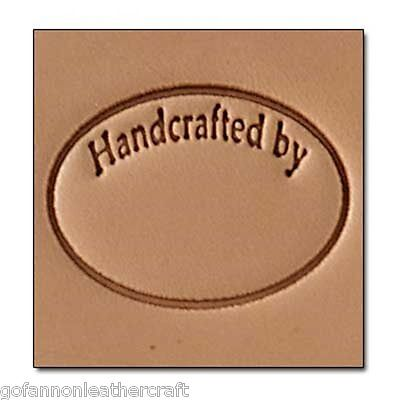 Craftool 3-D Leather Stamp Handcrafted (8689-00)