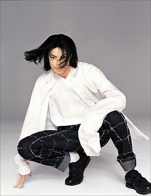 Michael Jackson UNSIGNED photo - E1043 - The King of Pop