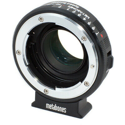 Metabones Nikon G Lens to Blackmagic 2.5k Cinema Camera w Micro4/3 Speed Booster