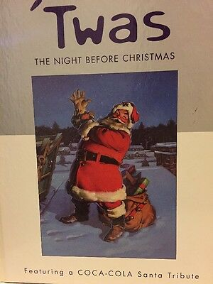 Hallmark & Coca-Cola Clement C. Moore's 'Twas The Night Before Christmas Book