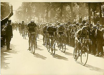 """TOUR DE FRANCE CYCLISTE 1931 (LEDUCQ)"" Photo originale G. DEVRED (Agce ROL)"