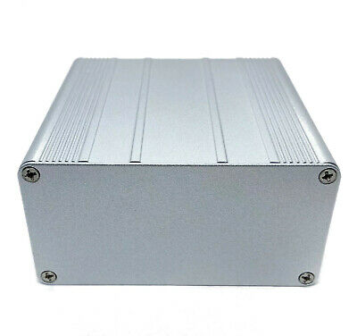 Silver Aluminum PCB instrument Box Enclosure DIY Project 100*100*50mm; US Stock