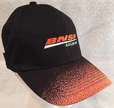 BNSF Railway Railroad Embroidered Cap Hat