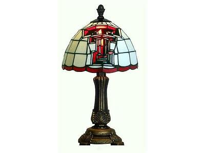 Texas Tech Red Raiders Stained Glass Tiffany Style Accent Lamp