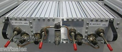 Sinclair Technologies Q3220E 4-Cavity Rack Mount UHF Duplexer #3 Tested & Clean