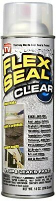 Flex Seal Clear Set of 2 Cans