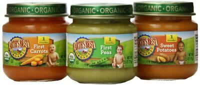 Earth's Best Organic Stage 1, My First Veggies Variety Pack, 12 Count, 2.5 Ounce
