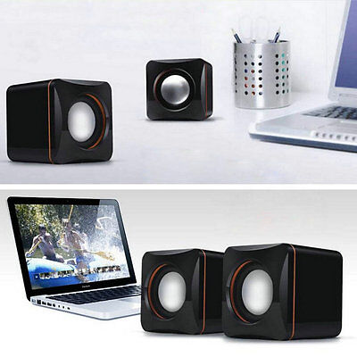 Mini Portable USB Audio Music Player Speaker for iPhone iPad MP3 Laptop PC DP