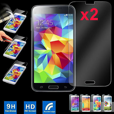 9H Tempered Glass Film Screen Protector Guard For Samsung GALAXY J1 2 3 5 7 2Pcs
