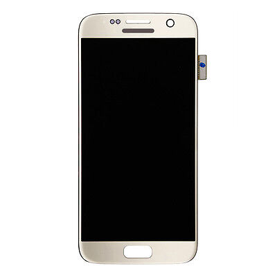 OEM LCD Touch Screen Digitizer Assembly for Samsung Galaxy S7 G930 - Gold