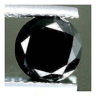 Diamante Nero 0.17 Tondo Brillante   Carati  Qualita' Superiore