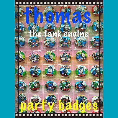 Thomas The Tank Engine party bag fillers. Set Of 10. Thomas birthday badges