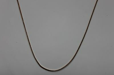 10K Yellow Gold Box Link Chain 22 inches 4 grams - NEW