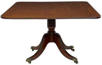 19Th Century William Iv Mahogany Breakfast Table