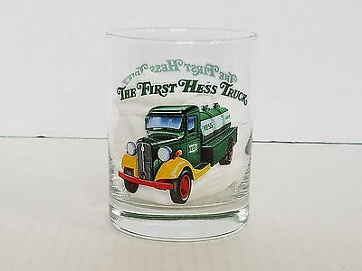 My First Hess Truck Tumbler Drinking Glass