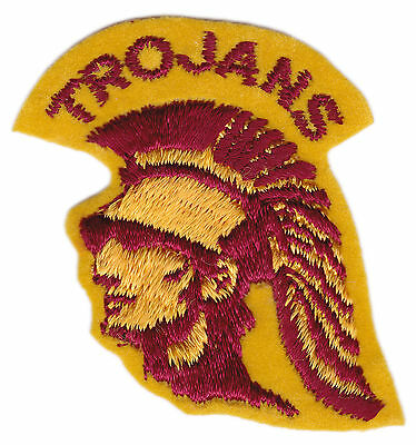 """Usc Trojans Ncaa College Vintage 2"""" Throwback Patch"""