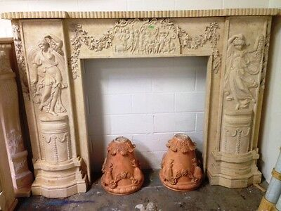 mantel for fireplace made with Jerusalem gold