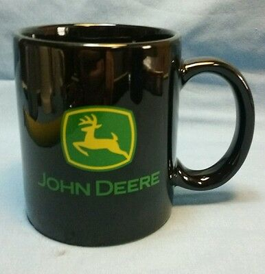 John Deere Double-Sides Black Coffee Cup