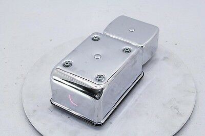 95 Harley Dyna FXDWG Electrical Caddy Fuse Box Cover CHROME