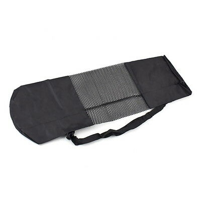 Portable Yoga Pilates Mat Nylon Bag Carrier Mesh Case Adjustable Strap OE