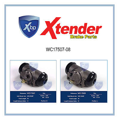 WC17507-WC17508 New Rear Brake Wheel Cylinder For Jeep Comanche/Grand Cherokee