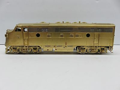 Brass S Scale EMD F-7 A Units Unpainted Re-powered RRM OMI#1750 Model Train T131